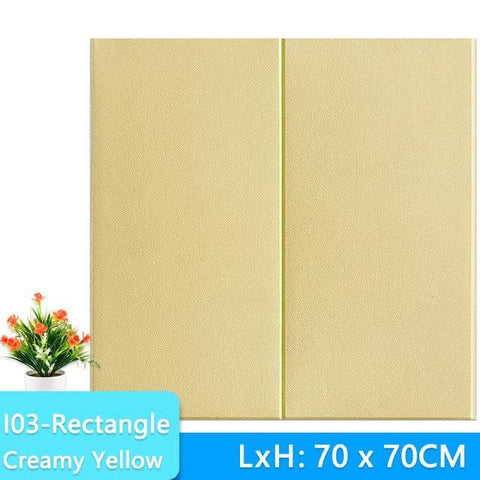 3D-Wallpaper-stone-tile-creamy-yellow