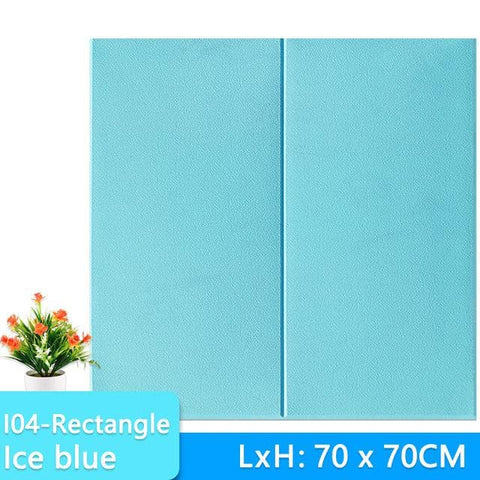 3D-Wallpaper-rectangel-tile-ice blue