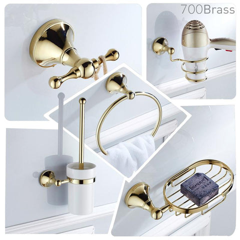 Luxury-Polished-Gold-Bath-Hardware-Bathroom-Wall-Set