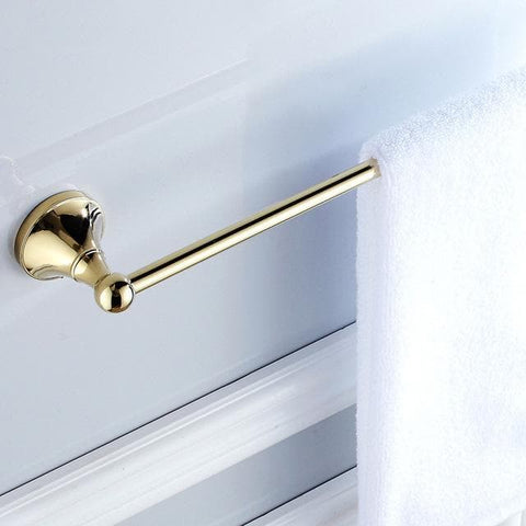 Gold-Polished-Bathroom-towel-holder-closeup