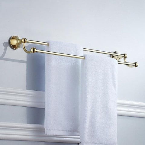 Gold-Polished-Bathroom-towel-holder