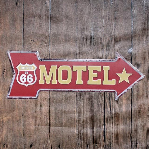 Vintage Metal Tin Signs Poster Coffee Bar Decoration