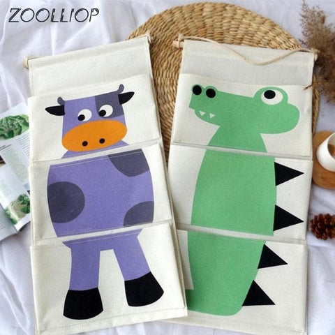 Cartoon-Wall-Hanging-Storage-Bag-Décor