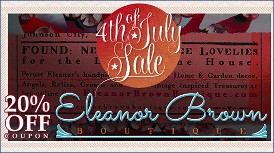 4th of July Sale at Eleanor Brown Boutique!