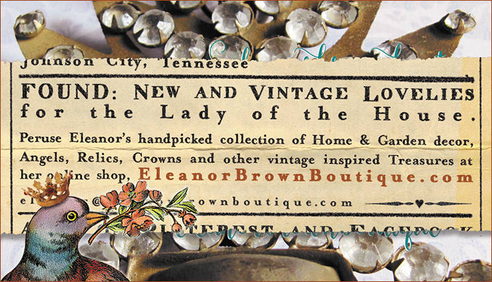 Eleanor brown Boutique - New and vintage lovelies for the lady of the house!