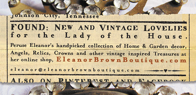 EleanorBrownBoutique.com - New and vintage lovelies for the lady of the house
