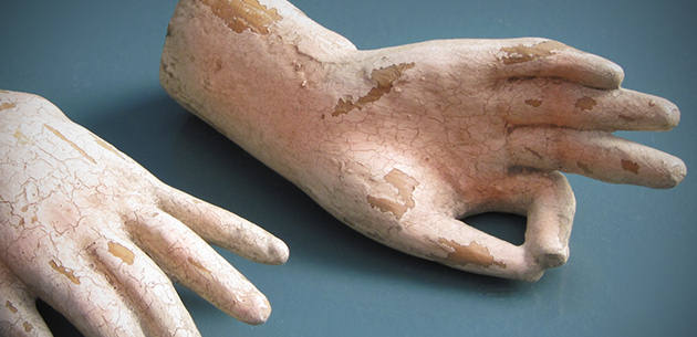 Pair of Santos Doll Hands
