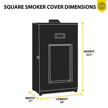 Load image into Gallery viewer, KHOMO GEAR Smoker Cover Black