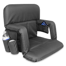 Load image into Gallery viewer, KHOMO GEAR - Stadium Foldable Seat Black (With new Pockets)
