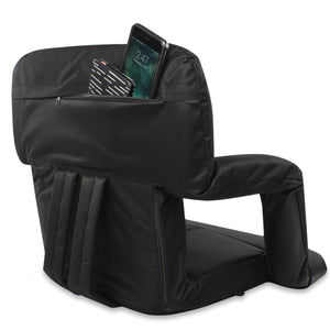 KHOMO GEAR - Stadium Foldable Seat Black (With new Pockets)
