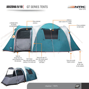 NTK TENT - Arizona GT 9-10