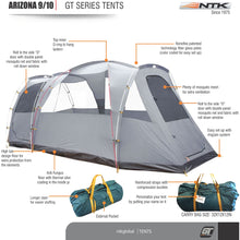 Load image into Gallery viewer, NTK TENT - Arizona GT 9-10