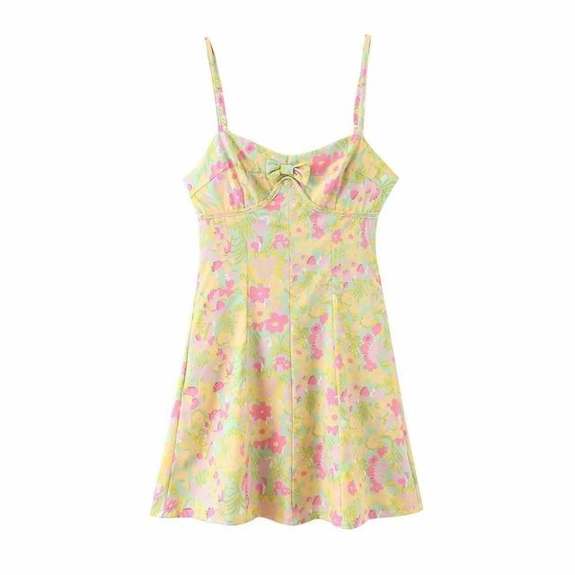 Glambear 6687 colorful Y175 / M Flora Dress