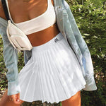 glambear Pleated Tennis Mini Skirt