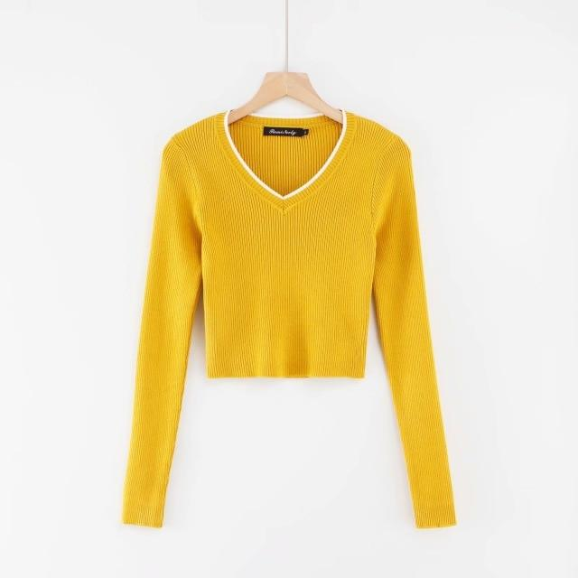 glambear Yellow / S Polly Top