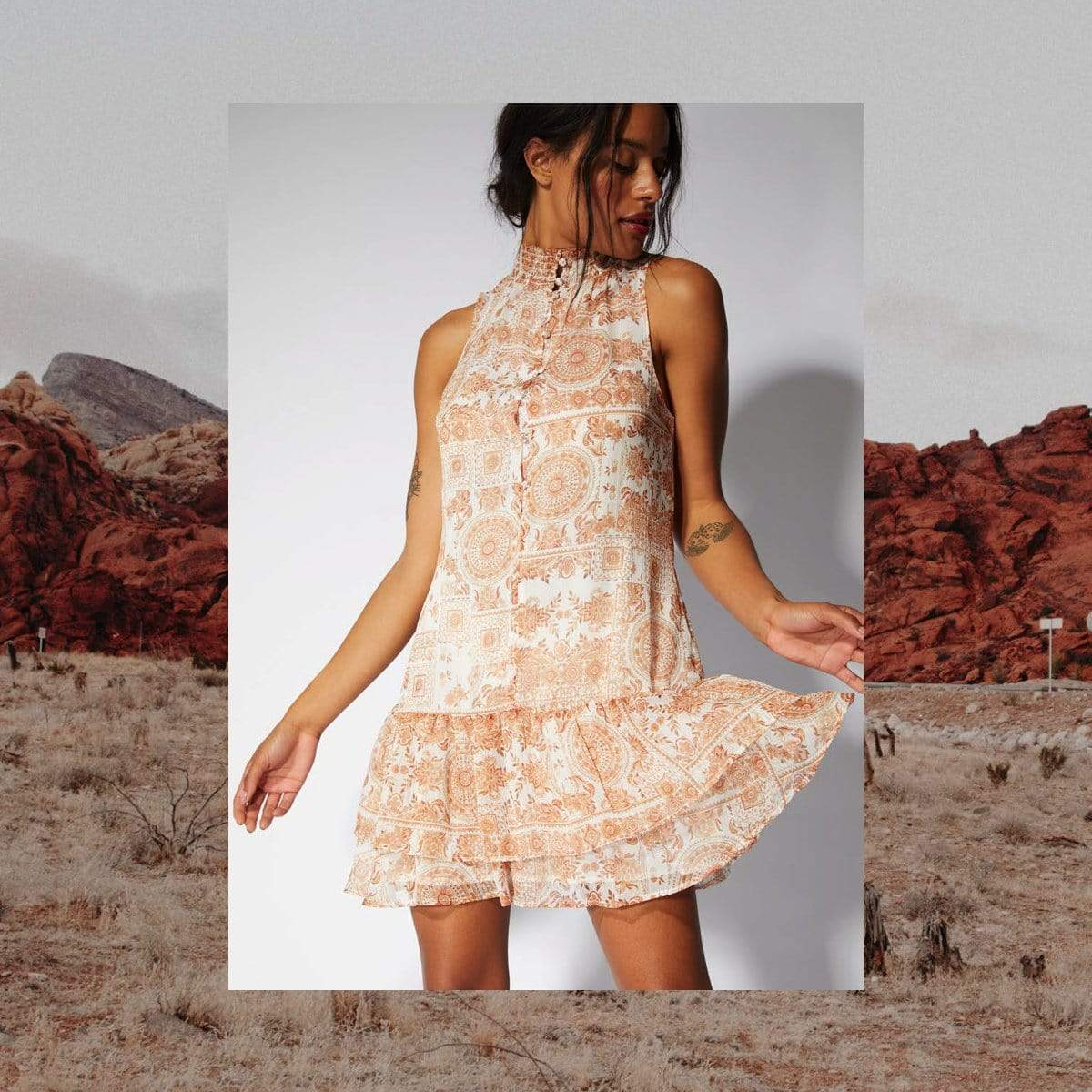 Jaipur Mini Dress