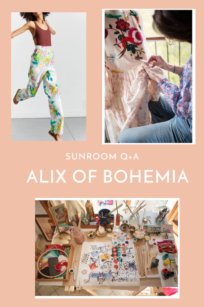 Sunroom Q+A: Alix of Bohemia