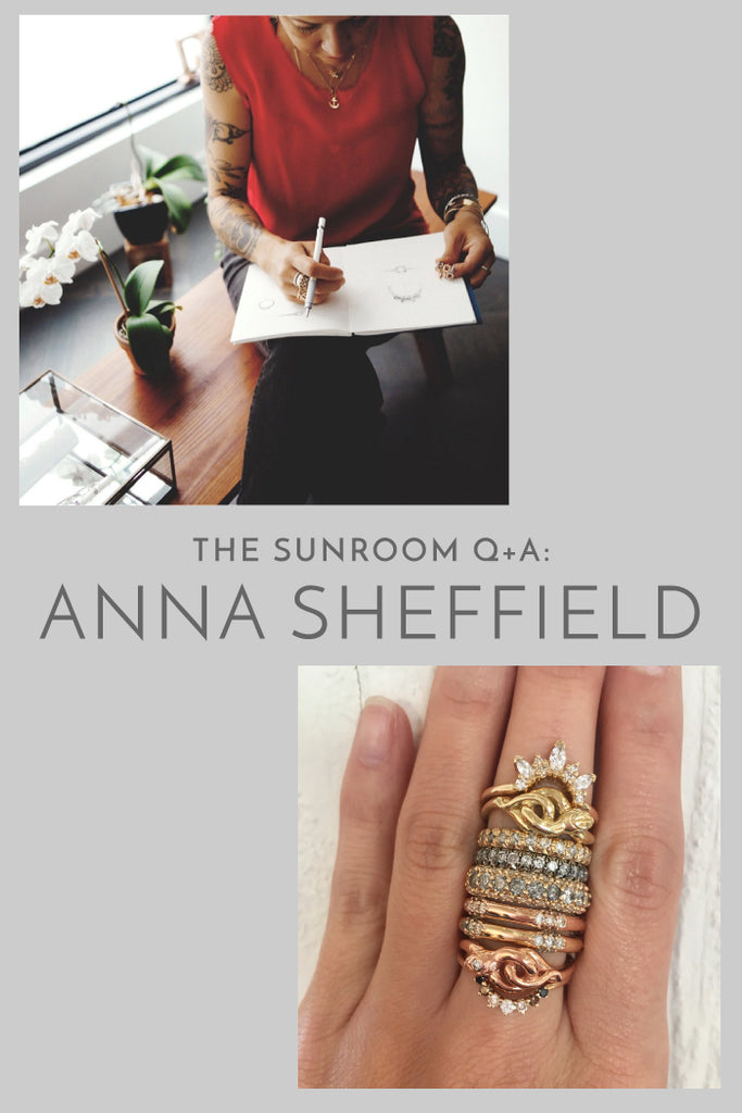 The Sunroom Q+A: Anna Sheffield