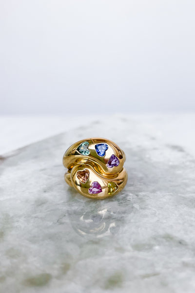Brent Neale Heart Knot Ring