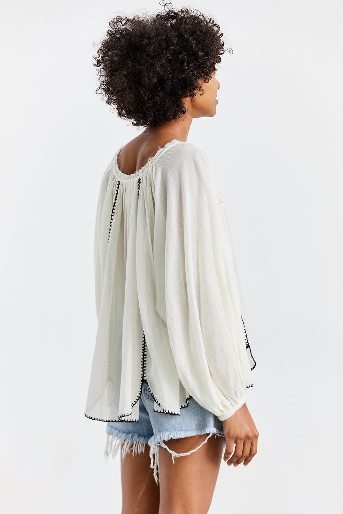 Lago Stitched Blouse