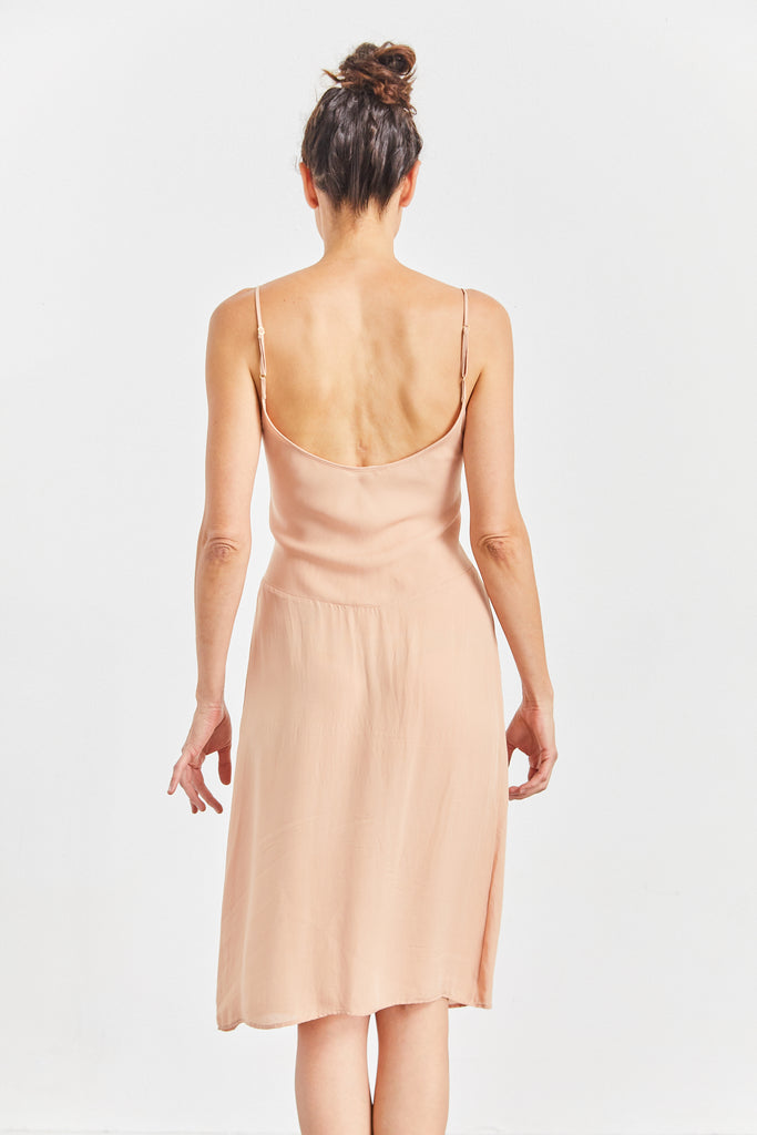 Cadel Silk Slip Dress