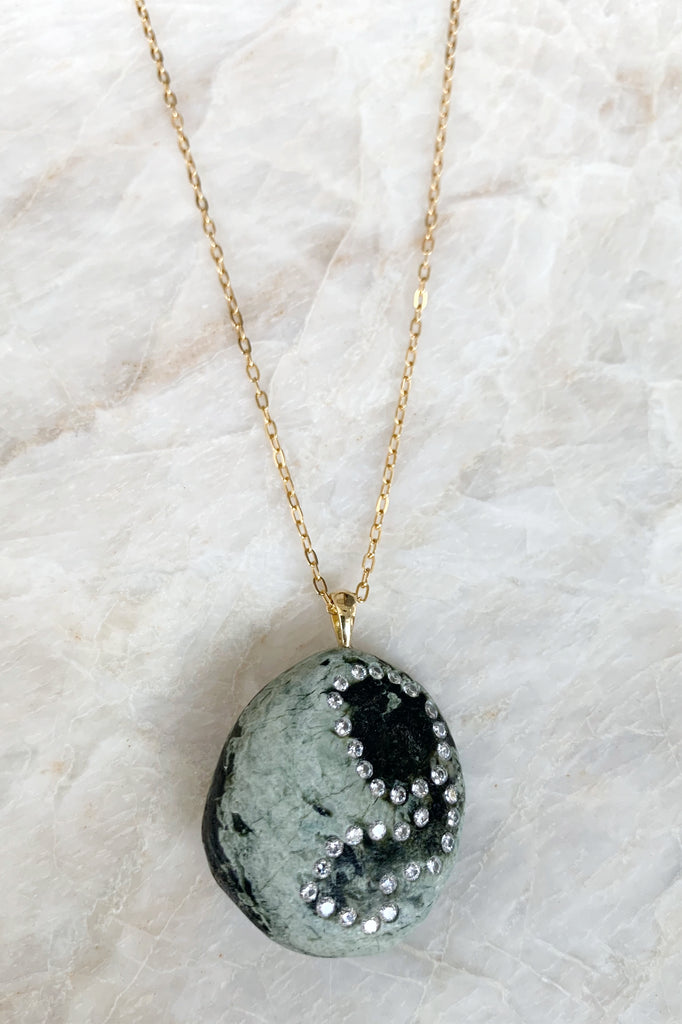"Planet Necklace 18"" Chain"