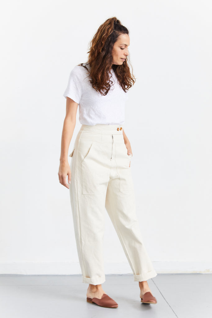 Emi Pant in Canvas