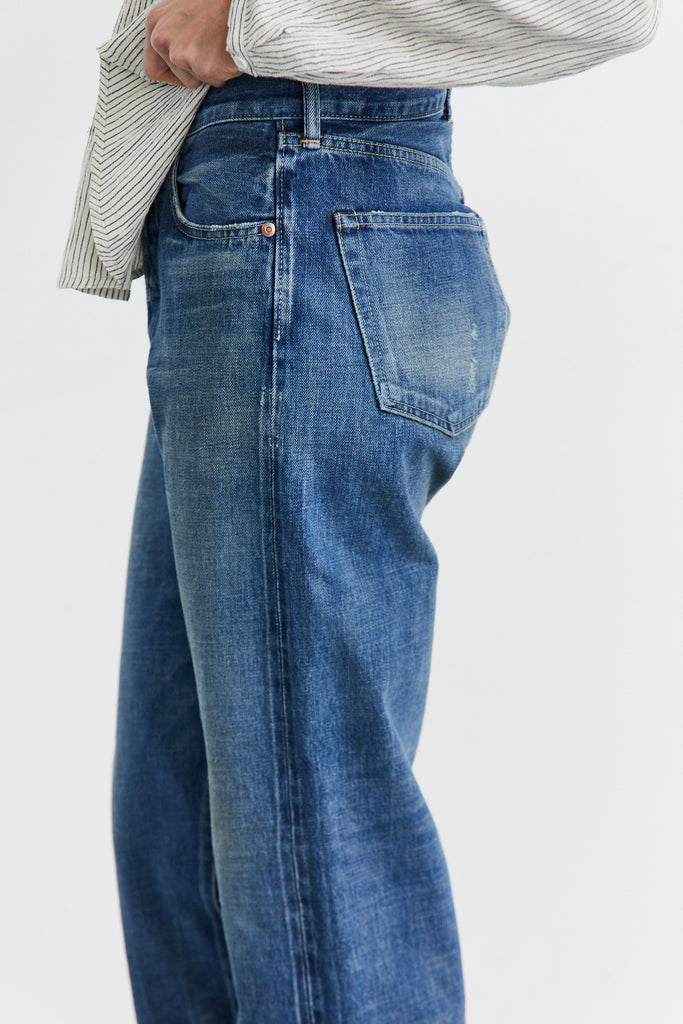 Selvedge Denim Straight Cut