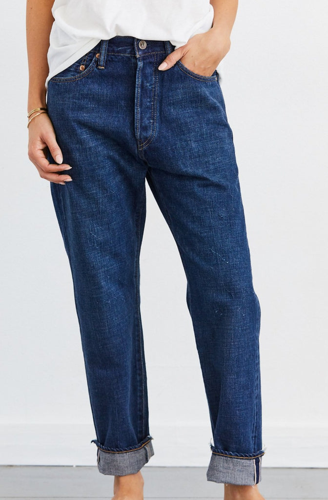 Selvedge Denim Narrow Tapered Cut