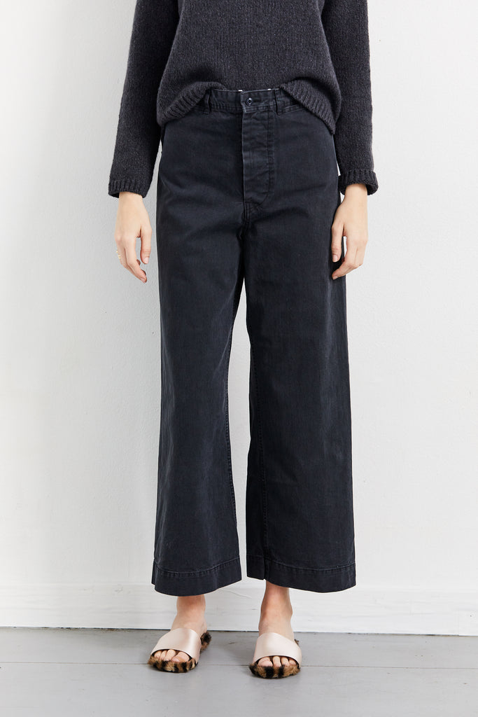Twill Sailor Trouser