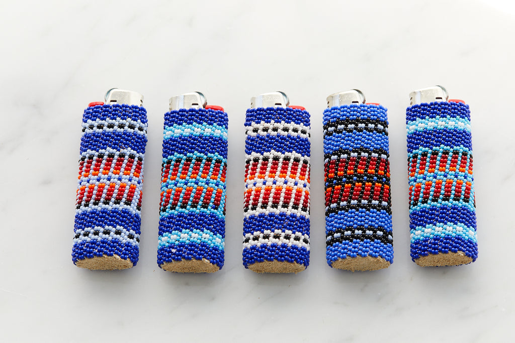 Beaded Lighters