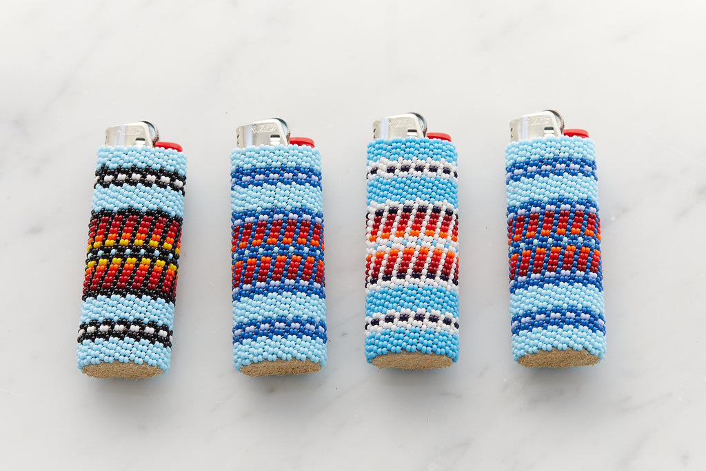 Beaded Lighter Case