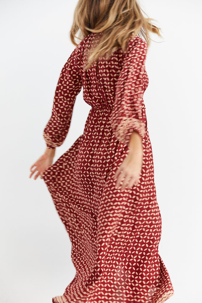 Nico Long Sleeve Maxi Dress