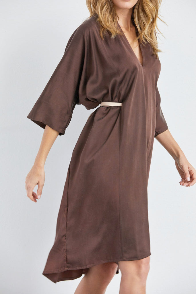 O'Keeffe Dress, Silk Charmeuse, Badlands, O/S