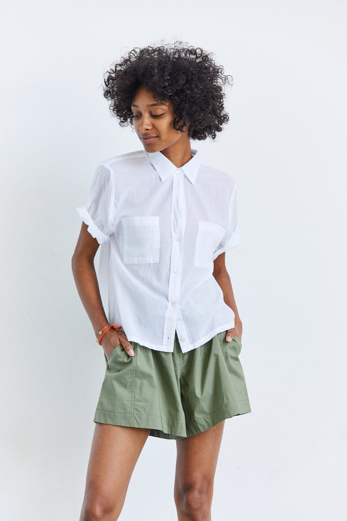 Voile Easy Short Sleeve Shirt