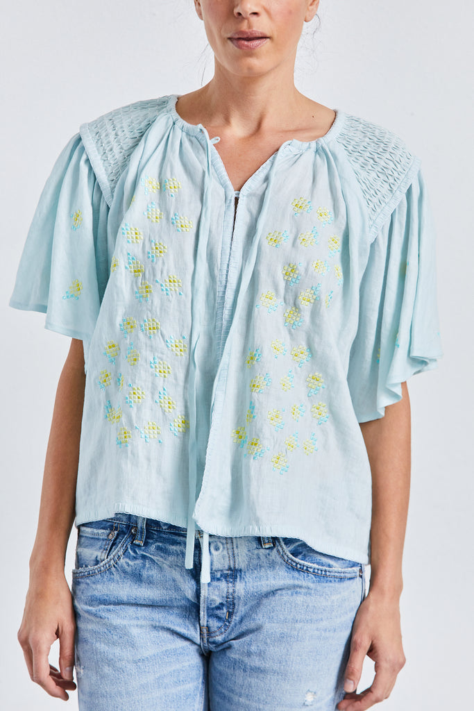 Oliver Daily Smock Top, Sea Mist, O/S