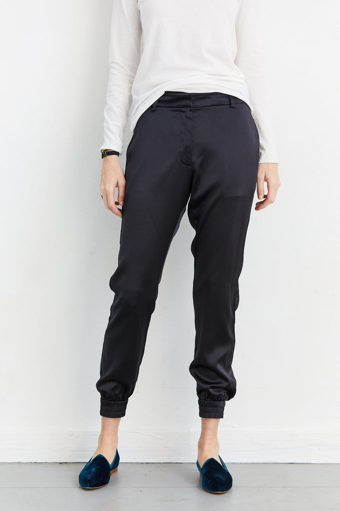 Modern Waistband Trousers Heavy Charmeuse