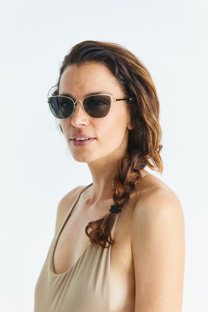 Kaela Gold Sunglasses