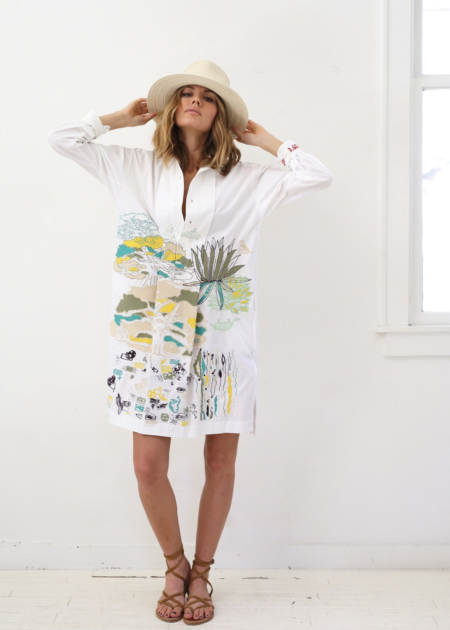 Austin Shirt Dress by Kilometre x Sunroom