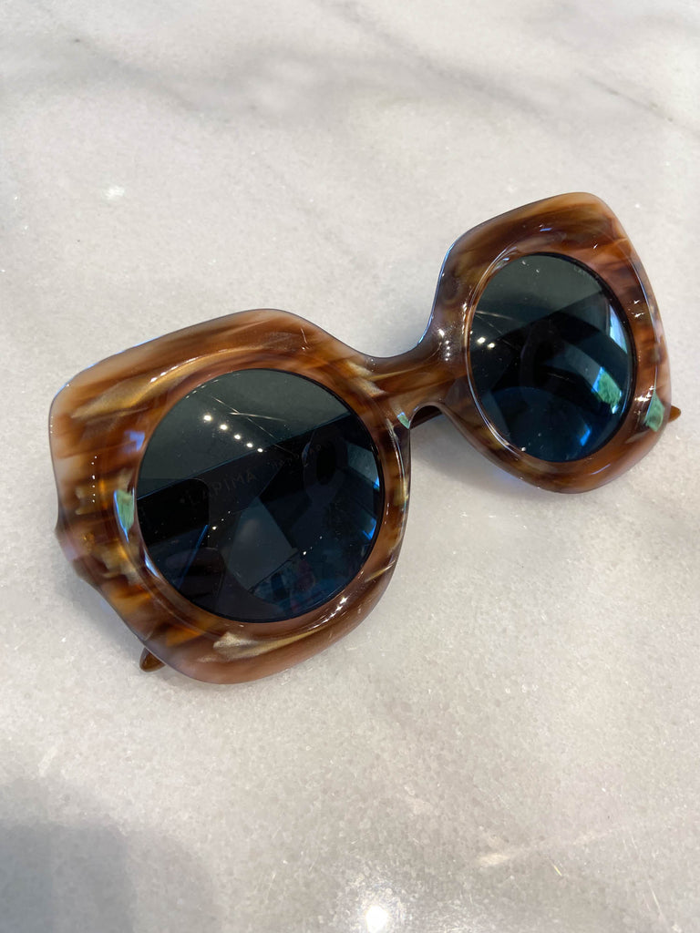 Paula Sunglasses, Almond