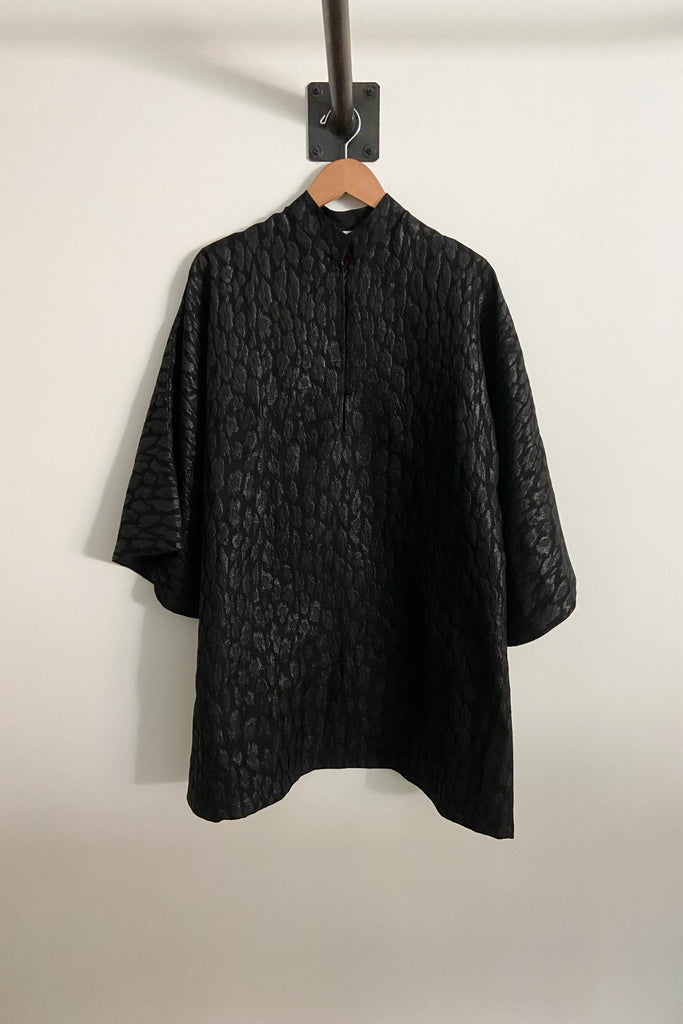 Caftan No. 454 Black Leopard Mini