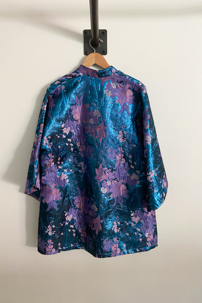 Caftan No. 369 Iridescent Brocade Mini