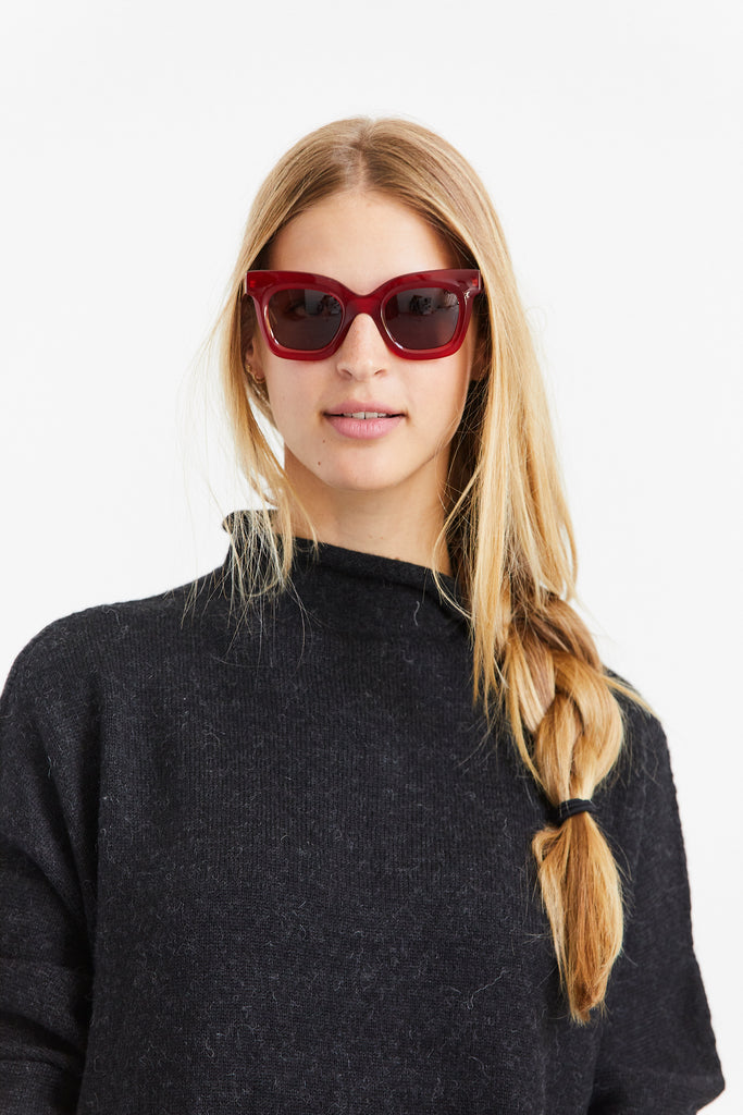 Lisa Sunglasses, Red