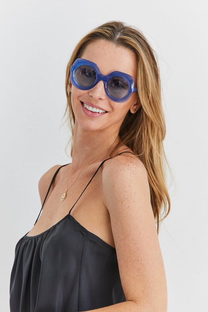 Paula Sunglasses, Royal Blue