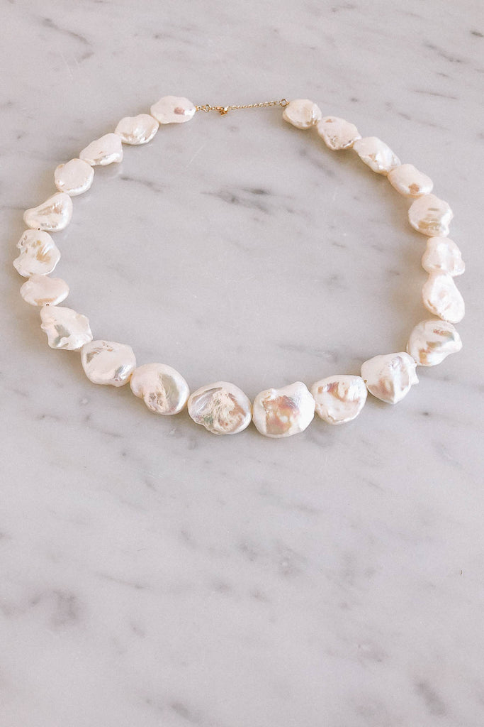 "16"" Baroque Pearl Strand Necklace"