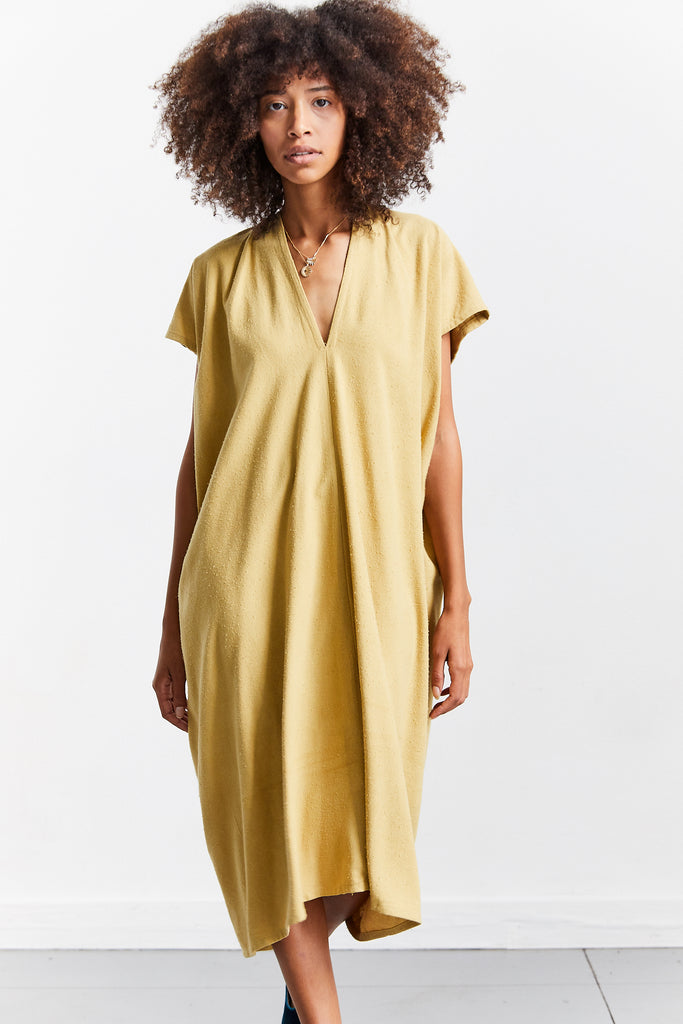 Everyday Dress, Palomino, Silk Noil, O/S
