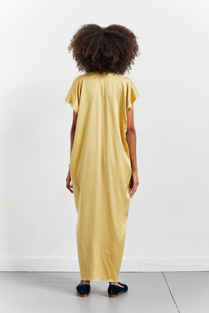 Knot Dress, Sumatra, Silk Charmeuse, O/S