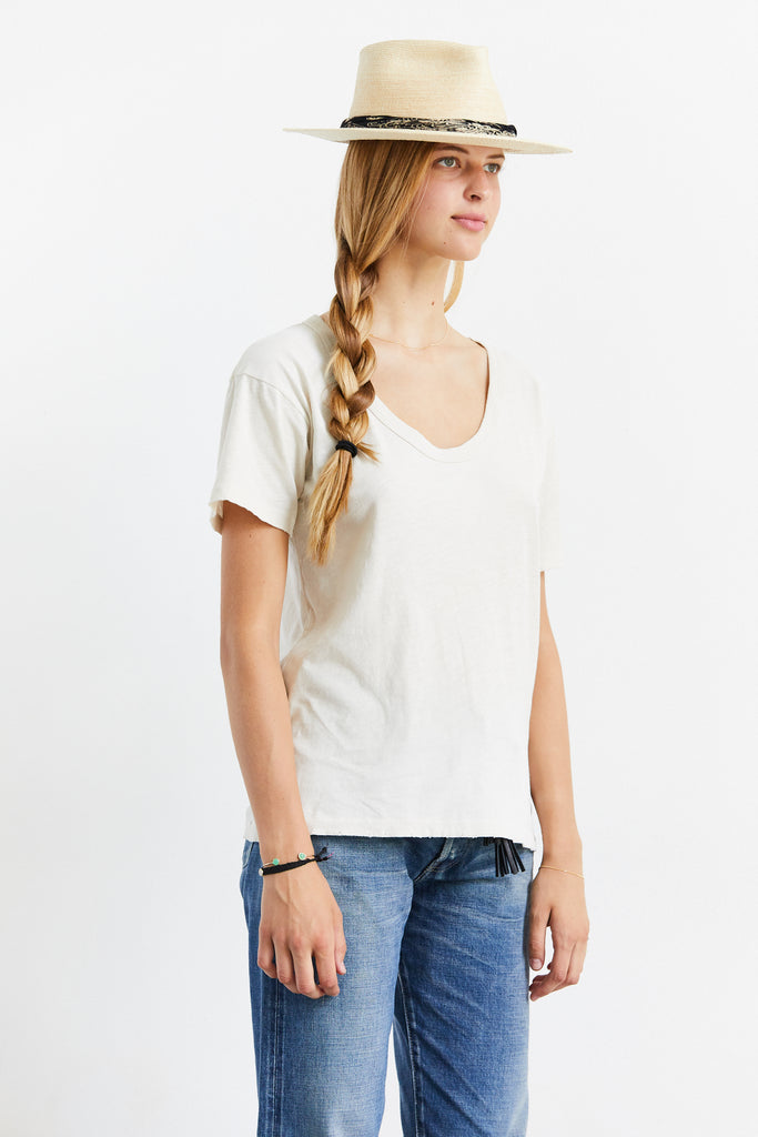 Rookie Scoop Neck T-Shirt