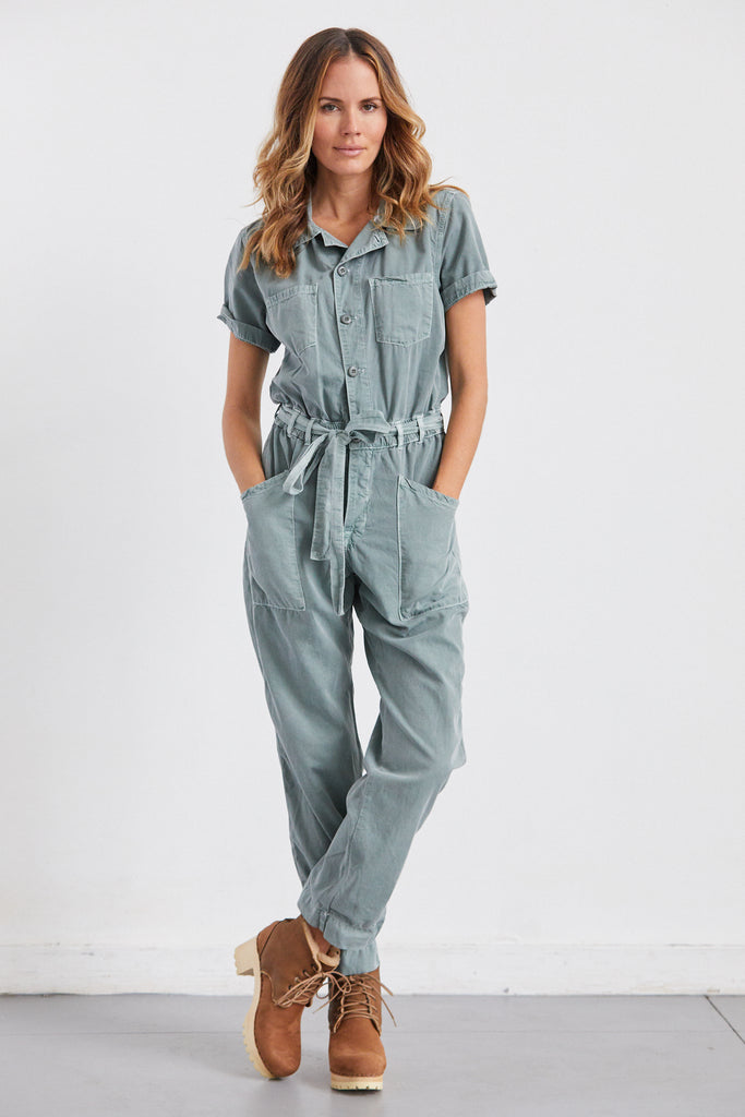 Macy Belted Jumpsuit