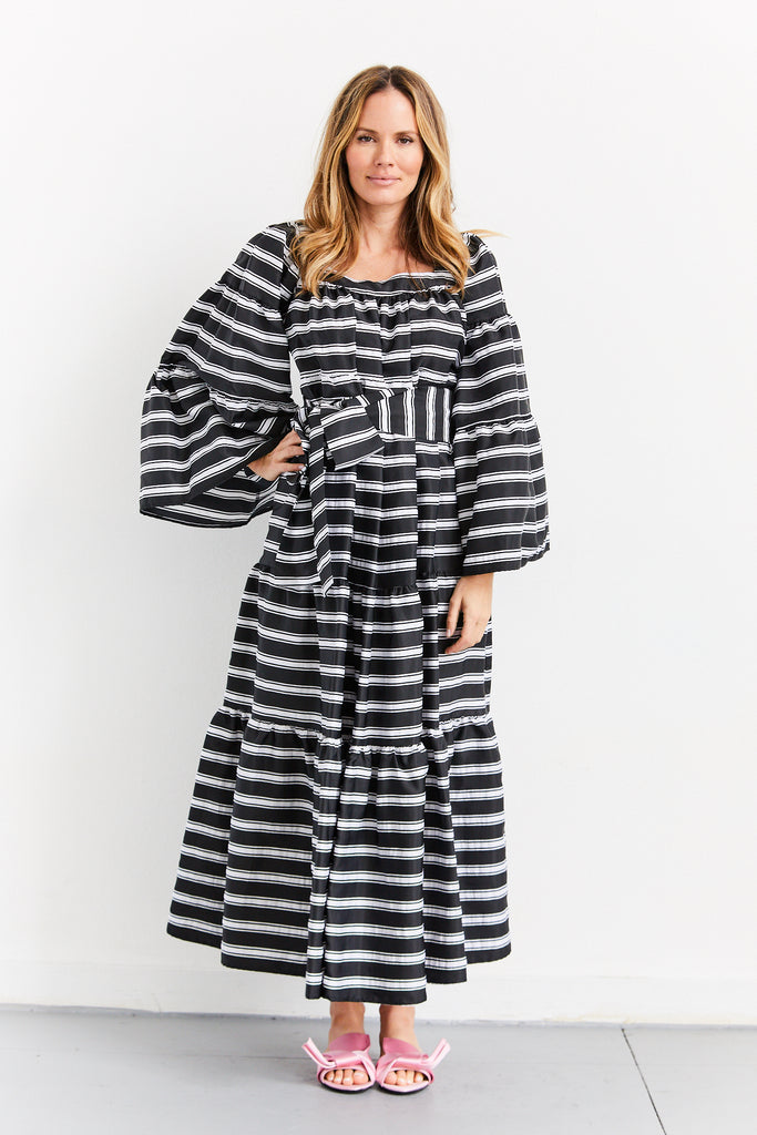Maxi Peasant Dress